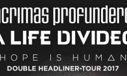 LACRIMAS PROFUNDERE & A LIFE DIVIDED in Hannover, Musikzentrum 11.02.2017