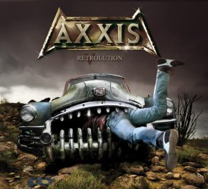 Axxis - Retrolution - Artwork