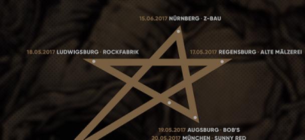 RESIST THE OCEAN – Touren ein Pentagramm