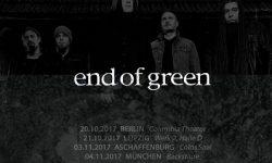 end of green – erste Details zum Album & Tourdates 2017!