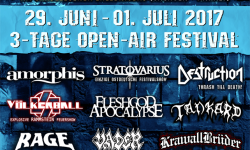 Metal Frenzy Festival Am Erlebnisbad in Gardelegen 29. Juni – 01. Juli 2017