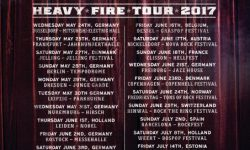 BLACK STAR RIDERS, 25-05-2017 FFM – Jahrhunderthalle (Opening Act For FOREIGNER)