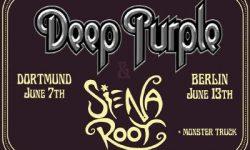Siena Root als Support für Deep Purple bestätigt