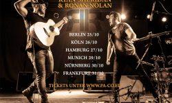 Vorbericht: RYAN SHERIDAN & RONAN NOLAN / Tour 2017 (31.10.2017 FFM-Zoom Club)