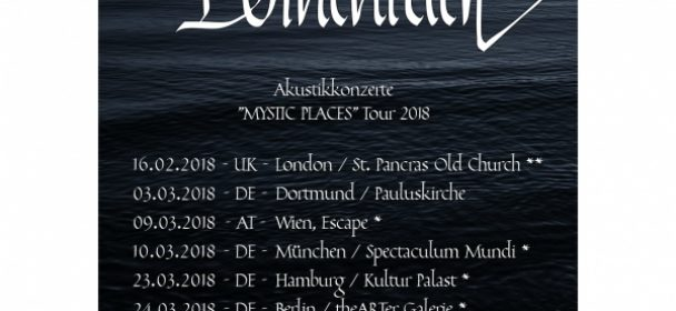 """Dornenreich: """"Mystic Places"""" Tour 2018"""