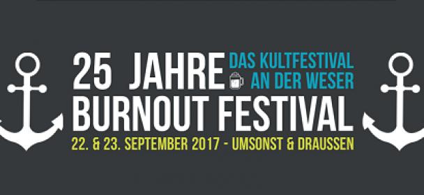 Timetable für heute 22.9. und morgen 23.9 beim (umsonst & draußen) BurnOut-Festival in Nienburg (Weser) !!!