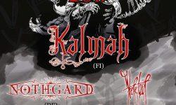 Death Unleashed Tour 2017:  KALMAH // NOTHGARD // HERETOIR // LOST IN GREY