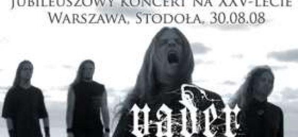 """KLASSIKER: Vader """"XXV-Anniversary Show"""" in Warschau, Stodola am 30.08.2008"""