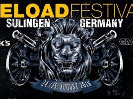 RELOAD Festival 2018 – Tag 1 (Freitag, 24.08.2018)