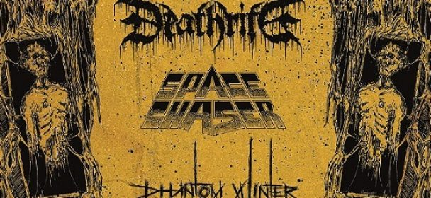 DEATHRITE on tour with SPACE CHASER & PHANTOM WINTER