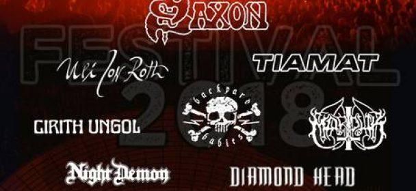 News: Programm auf der Biergarten-Bühne beim Rock Hard Festival 2018