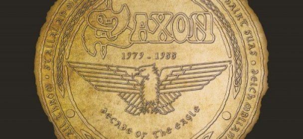 "Saxon-Anthologie ""A Decade Of The Eagle"" am 17.11.2017 als Doppel-CD und 4LP-Edition"