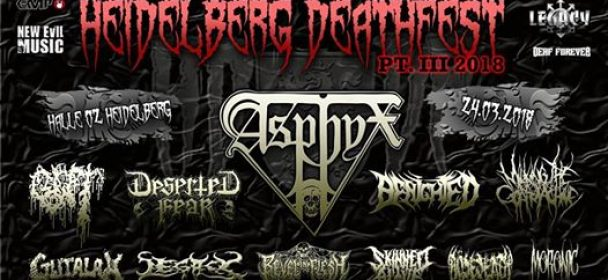 """Heidelberg Deathfest """"HDDF"""" 2018 – Part III: Support Your Local Death!"""