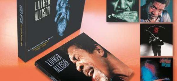 Luther Allison (USA) – A Legend Never Dies (7 CDs & 4 DVDs)