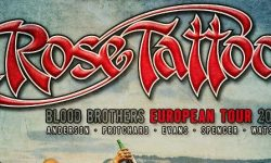 "Rose Tattoo – ""Blood Brothers European Tour 2018"" – Vorverkaufsstart"