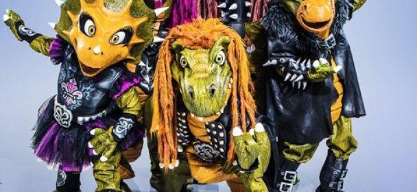 """HEAVYSAURUS – Echsenmenschen übernehmen den Metal: """"Rock'n'Rarrr Music"""" am 02.03."""