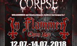 IN FLAMMEN Open Air 2018 -neue Bands!