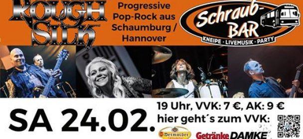 ROUGH SILK am 24.2. in der Schraub-Bar in Bückeburg!!! | METALGLORY ...