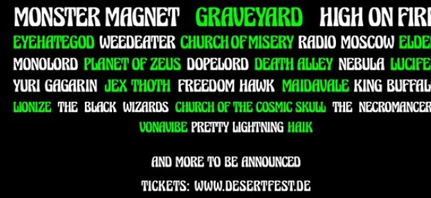 DESERTFEST BERLIN ANNOUNCES 5 MORE BANDS FOR 2018