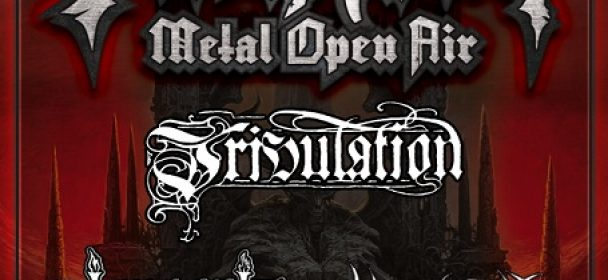 TRIBULATION, GRUESOME & OBSCENITY beim PARTY.SAN METAL OPEN AIR 2018