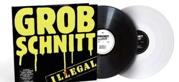 Grobschnitt (D) – Illegal (Black & White LP)