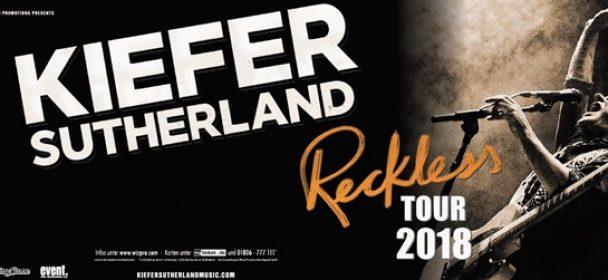 News: Kiefer Sutherland am 03.04.19 im Stage Club, Hamburg!!!