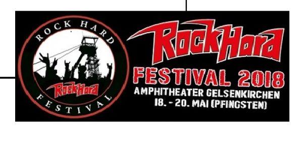 Rock Hard Festival 2018: Livestream beim WDR Rockpalast !!!