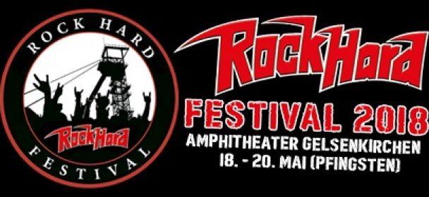 News: Rock Hard Festival 2018: …die Musikerstimmen zum Festival!!!
