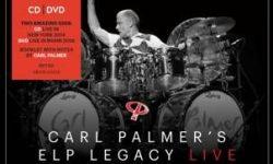 """Am 29.06. erscheint von Carl Palmer´s ELP Legacy das CD+DVD-Set """"Live"""""""