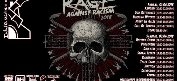 Rage against Racism Open Air  in Duisburg vom 01.- 02.06.2018