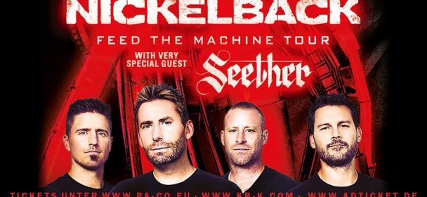 Live Review – NICKELBACK, 09-06-2018, FFM / Festhalle