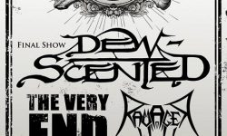 """Final Show DEW-SCENTED – Support: The Very End, Ravager im """"mittendrin"""", Walsrode am 06.10.2018"""