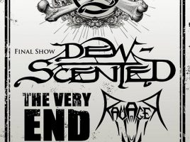 Final Show DEW-SCENTED + The Very End & Ravager in Walsrode 06.10.2018