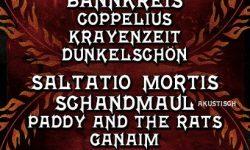 15. FEUERTAL FESTIVAL – Line-Up im Jubiläumsjahr bestätigt – am 17. & 18. in Wuppertal