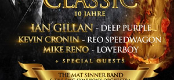 News: Rock Meets Classic – Jubiläumstour 2019 !!!