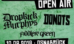 News – Countdown läuft – Schlossgarten Open Air 10-08-2018- Donots, Dropkick Murphys, Fiddlers Green