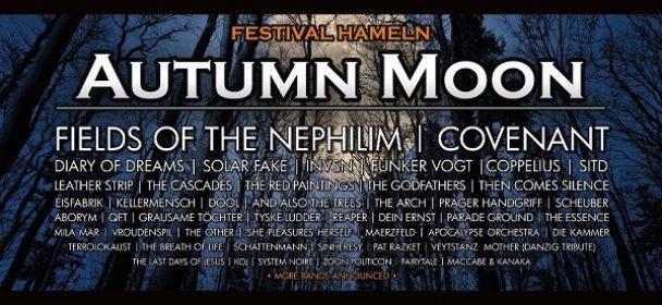 News: AUTUMN MOON Festivals 2018 – Running Order angepasst!