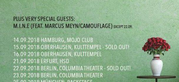 "News: MESH gehen auf ""Involved – The Retrospective Tour 2018"" ab dem 14.09."