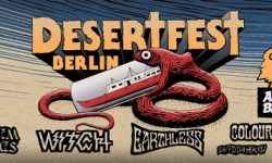 News: DESERTFEST BERLIN ANNOUNCES FIRST BANDS FOR 2019! Legendary WITCH, ALL THEM WITCHES, EARTHLESS …
