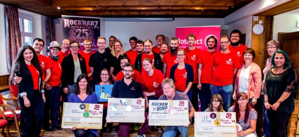 """News: Die Aktion """"Glück in Dosen"""" auf dem Rockharz Open Air Festival spendet 31.200 € für Jugendarbeit"""