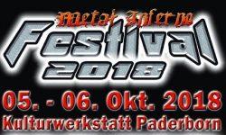 News: METAL INFERNO FESTIVAL 2018 in Paderborn vom 05. – 06.10. – Runnig Order steht fest!