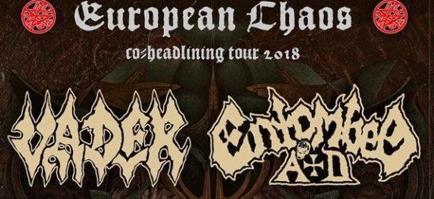 News: VADER – kündigen EU-Co-Headlinetour mit ENTOMBED A.D. an – ab Oktober 2018!