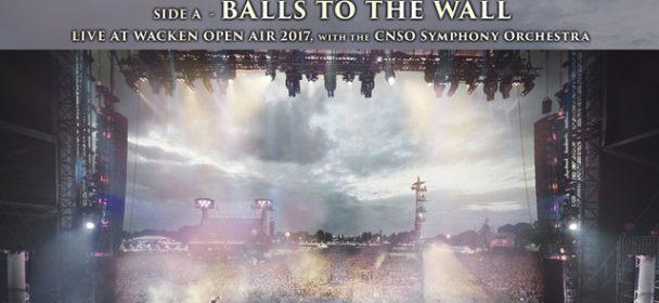 "News: ACCEPT- 10 inch vinyl ""Balls To The Wall / Symphony No.40 in G Minor"", veröffentlicht!"