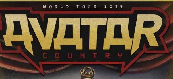 News: AVATAR announces 2019 Europe Headline Tour