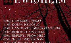 News: LACRIMAS PROFUNDERE & EWIGHEIM auf Doppel-Headlinertour in Anfang 2019!