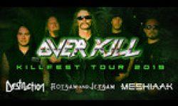 Vorbericht: Killfest 2019 – OVERKILL, Destruction, Flotsam & Jetsam und Meshiaak