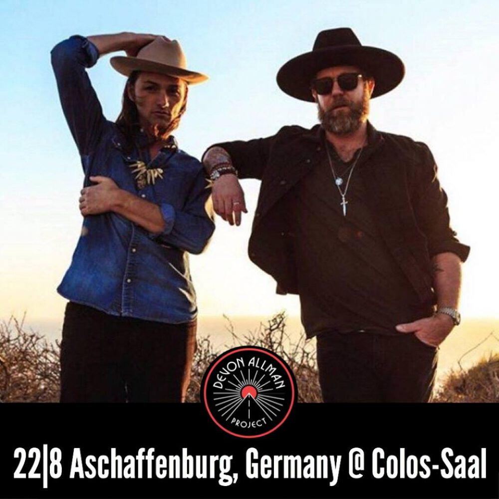 DEVON ALLMAN & DUANE BETTS, 22-08-2018, Colos-Saal / Aschaffenburg