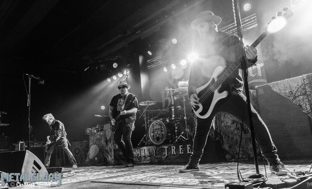 "Black Stone Cherry ""Family Tree Winter Tour 2018"" – Hamburg, Große Freiheit 36 – 19.11.2018 / Support: Monster Truck"