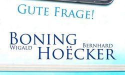 Gute Frage! – Wigald Boning und Bernhard Hoecker in Nienburg/Weser – Theater auf dem Hornwerk, 10.11.2018