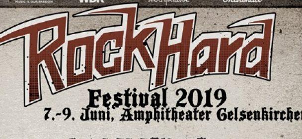 News: Rock Hard Festival 2019 in Gelsenkirchen – Running Order steht fest!!!